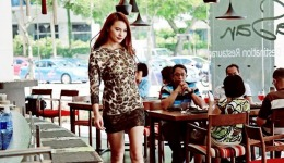 Mother's Day Fashion Show at Pappasan Restaurant (Carrie Models) on 12th May